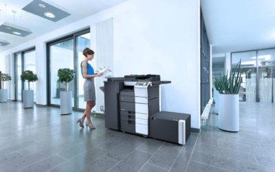 Konica Minolta lanza la serie bizhub 558, tecnología punta para oficinas inteligentes